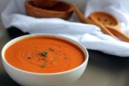 Vegan Tomato Bisque Soup