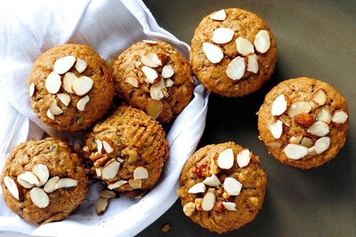 Vegan Almond Muffin