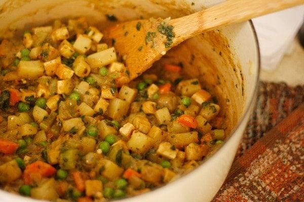 Vegan Tofu And Vegetable Pot Pie Recipes — Dishmaps