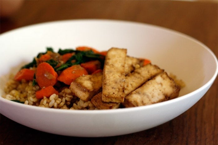 Baked Tofu Recipe With Soy And Sesame Recipes — Dishmaps
