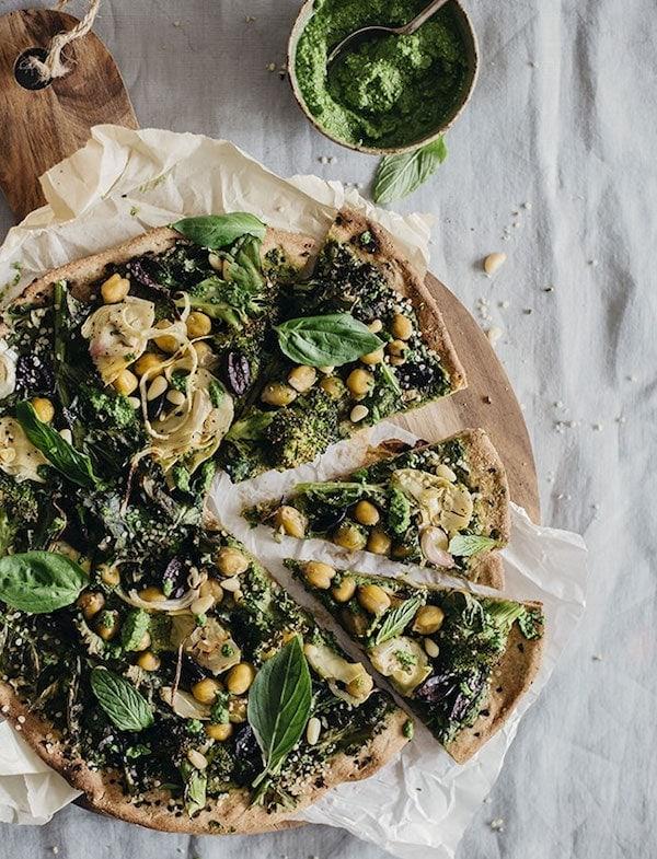 vegan pizzas