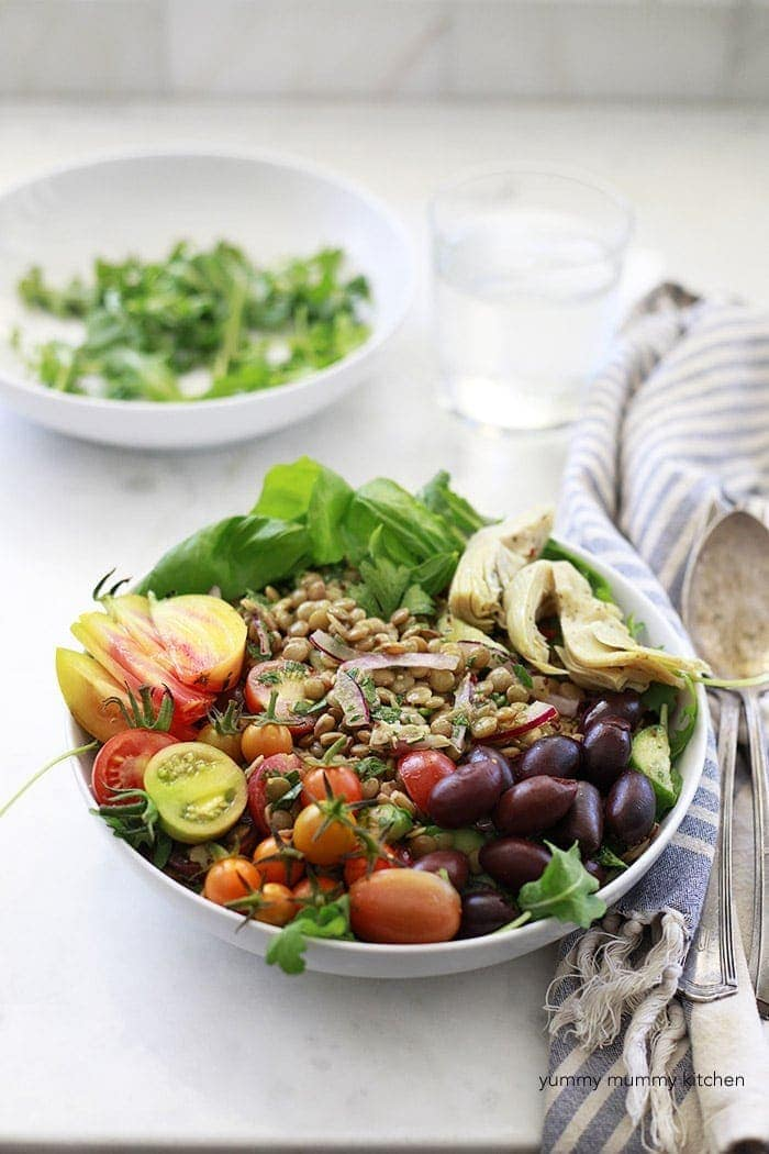 15 Delicious Protein Packed Vegan Salads Recipe Well Vegan